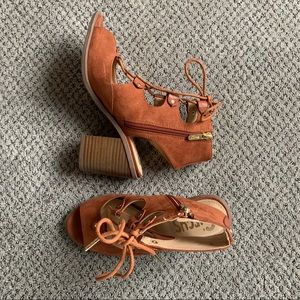 Circus by Sam Edelman lace up shoes